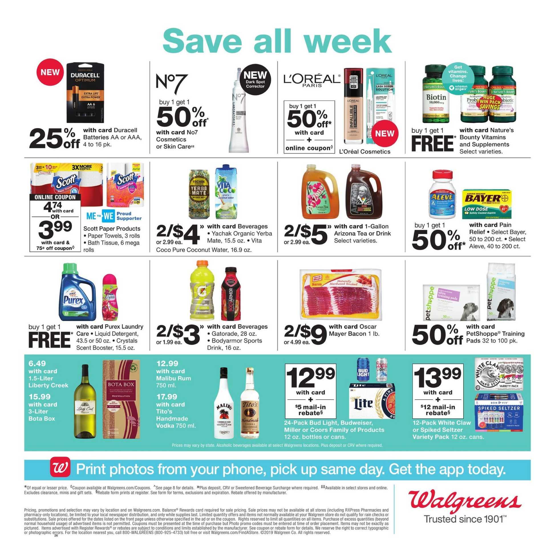 Walgreens - deals 21 07 2019 | us promotons com