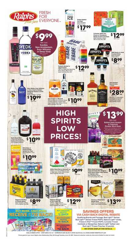 Ralphs - deals are valid from 06/02/21 to 06/08/21 - page 1.