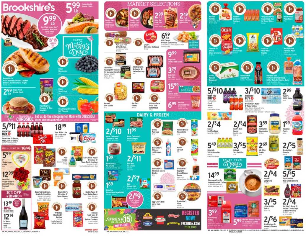 Brookshire's - deals are valid from 05/05/21 to 05/11/21 - page 1.