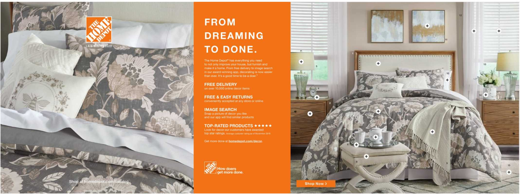 The Home Depot - deals are valid from 12/30/19 to 02/09/20 - page 1.
