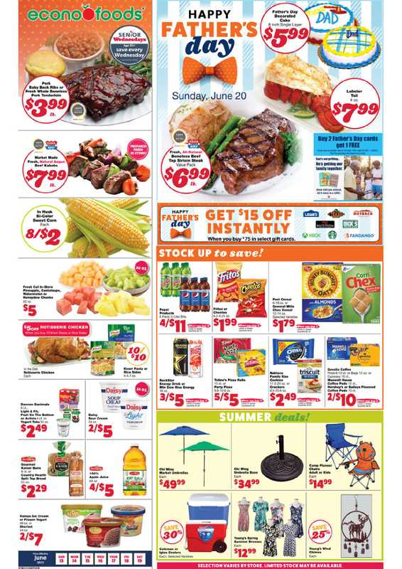 Econofoods - deals are valid from 06/13/21 to 06/19/21 - page 1.