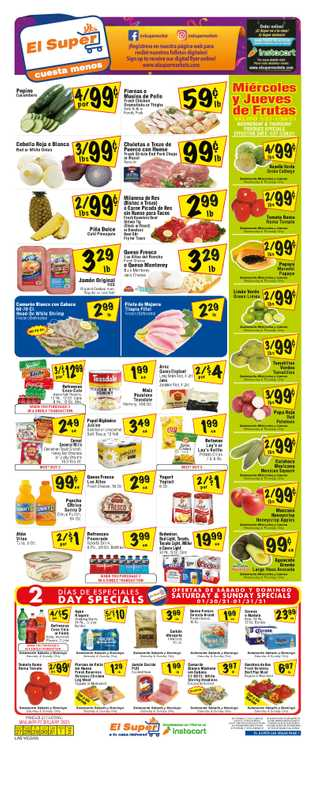 El Super - deals are valid from 01/27/21 to 02/02/21 - page 1.