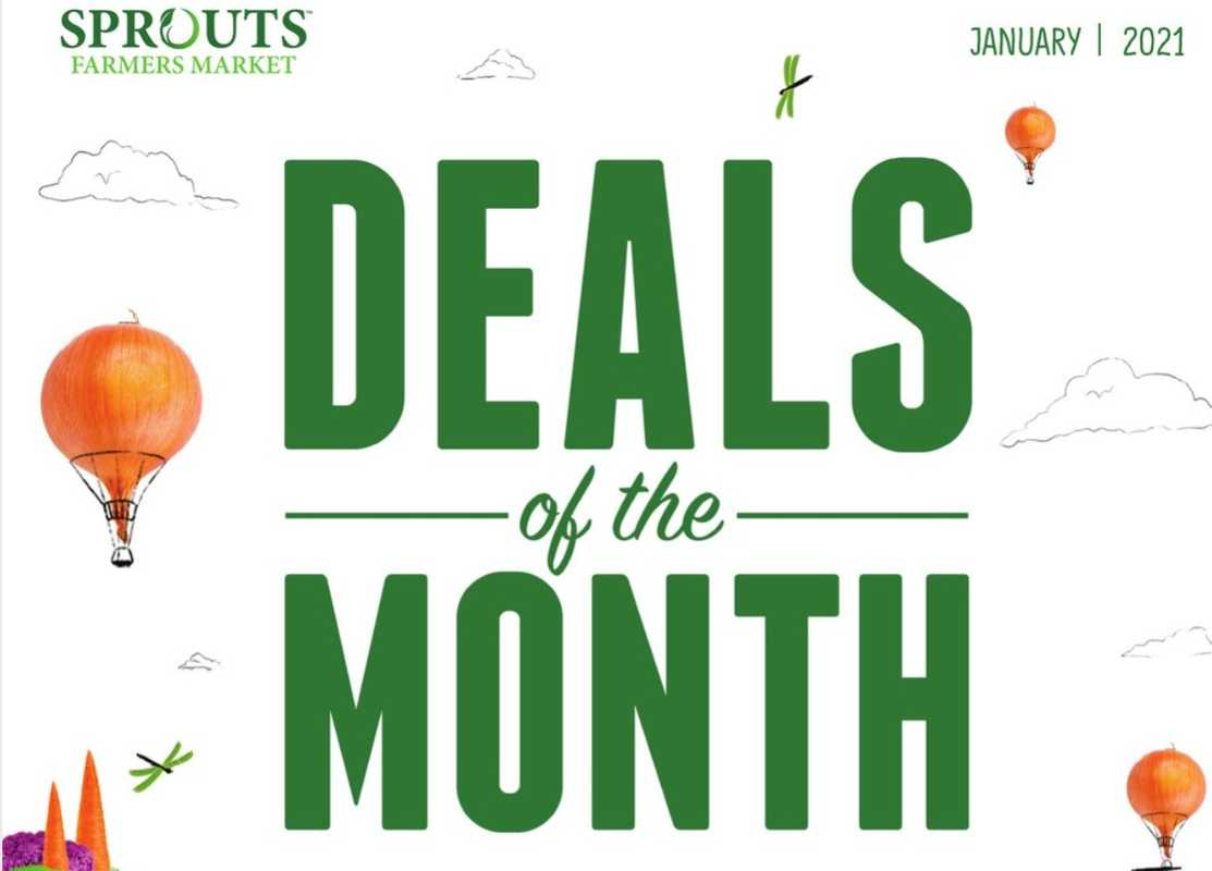 Sprouts - deals are valid from 12/30/20 to 01/27/21 - page 1.