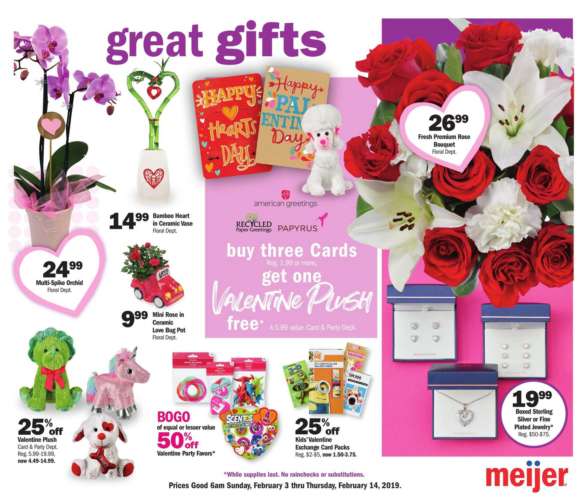 Meijer - promo starting from 03.02.2019 - page 1