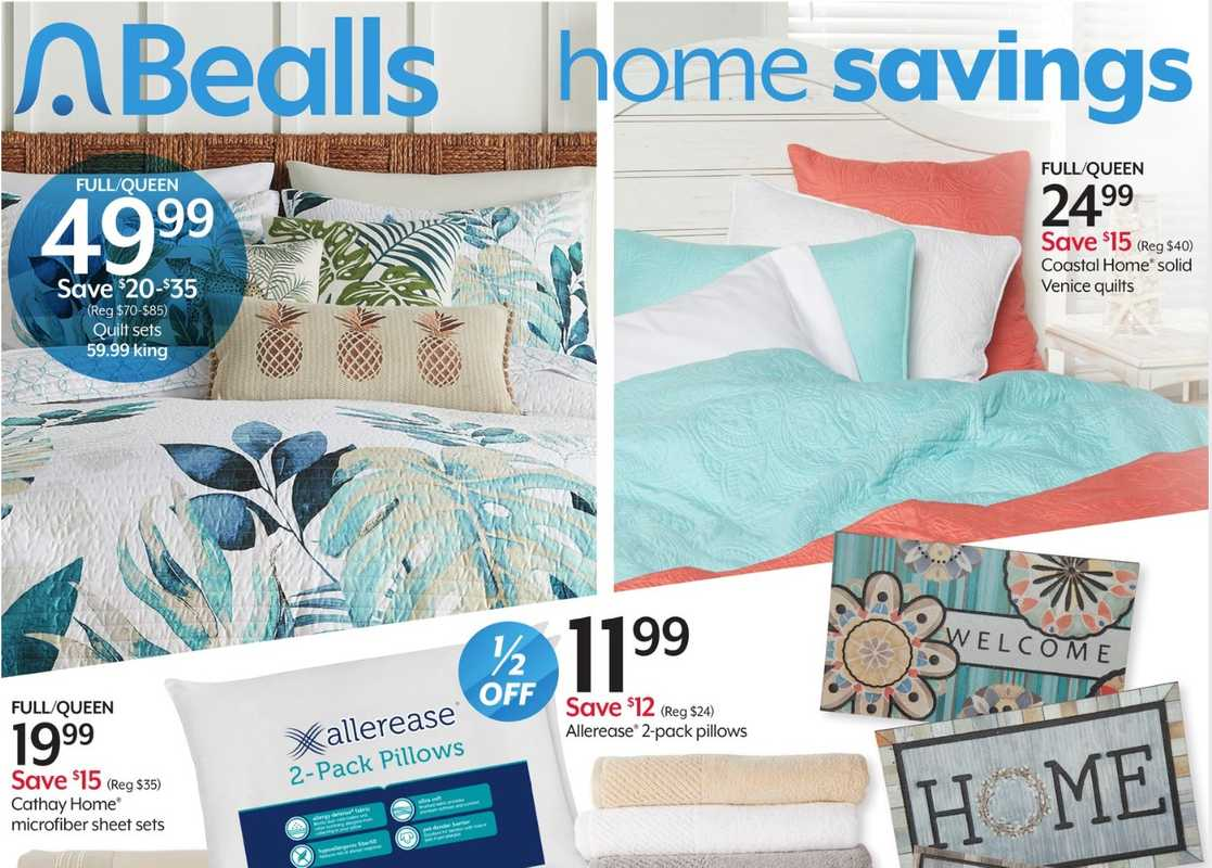 Bealls Florida - deals are valid from 06/02/21 to 06/08/21 - page 1.