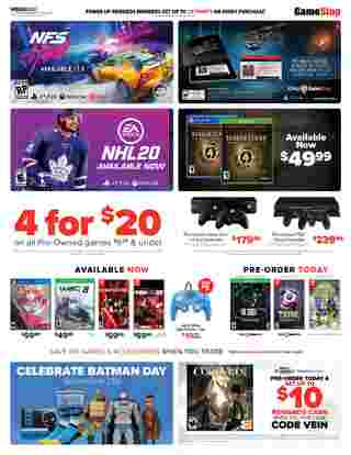 GameStop - promo starting from 09/15/19 - page 5