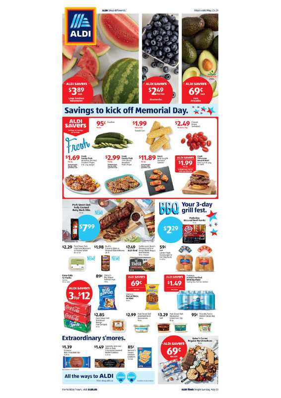 Aldi - deals are valid from 05/23/21 to 06/21/21 - page 1.