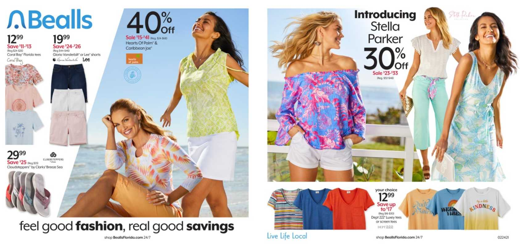 Bealls Florida - deals are valid from 02/24/21 to 03/02/21 - page 1.