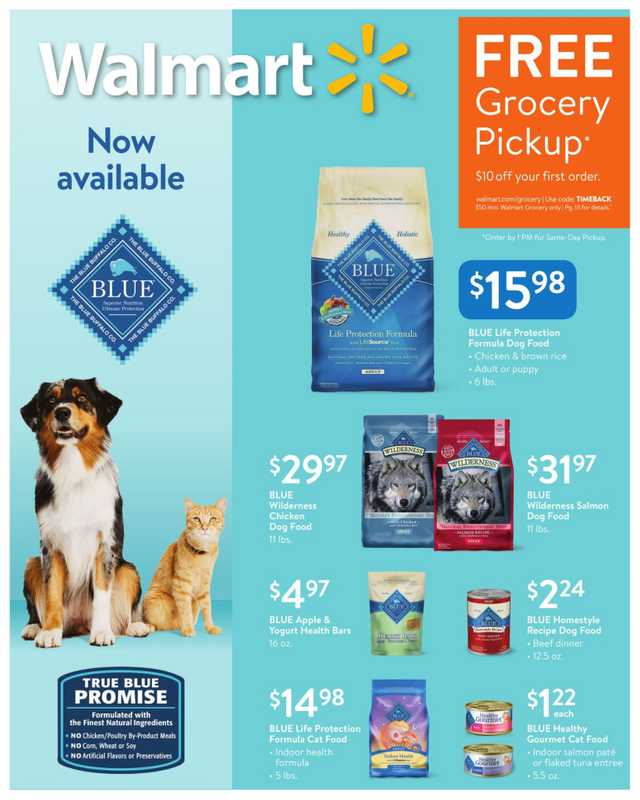 Walmart - deals are valid from 04/21/19 to 04/25/19 - page 1.