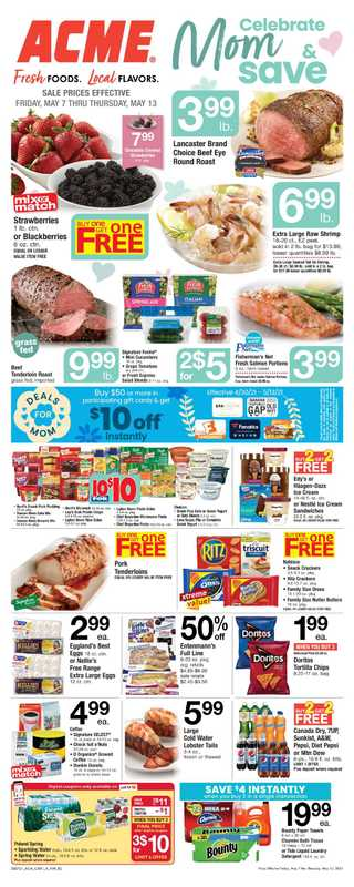ACME - deals are valid from 05/07/21 to 05/13/21 - page 1.