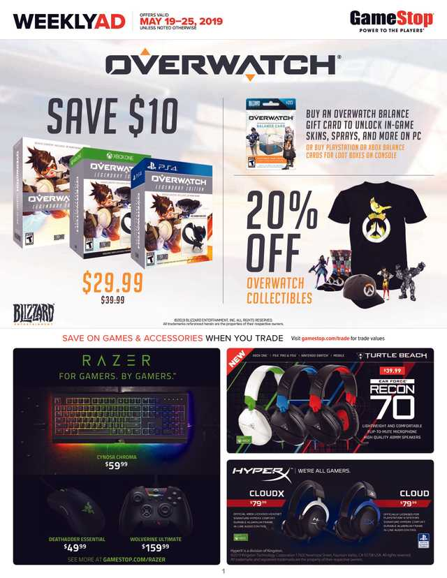 GameStop - promo starting from 2019-05-19 - page 1