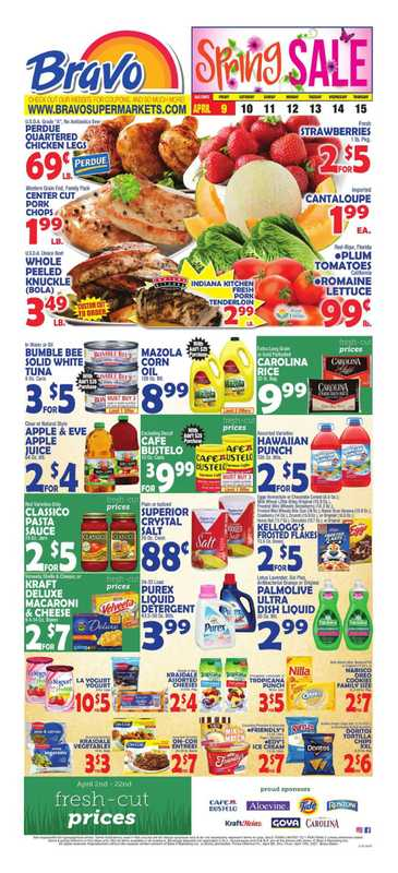 Bravo - deals are valid from 04/09/21 to 04/15/21 - page 1.