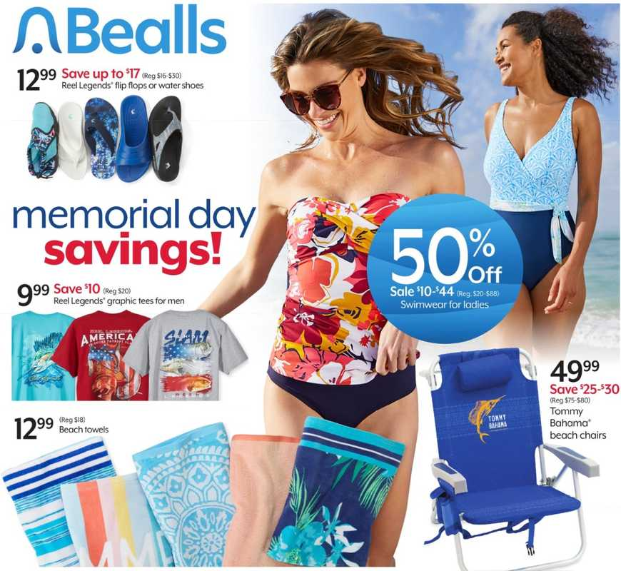 Bealls Florida - deals are valid from 05/26/21 to 06/01/21 - page 1.