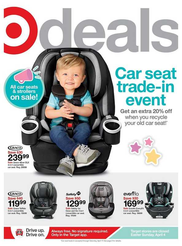 Target - deals are valid from 04/04/21 to 04/10/21 - page 1.