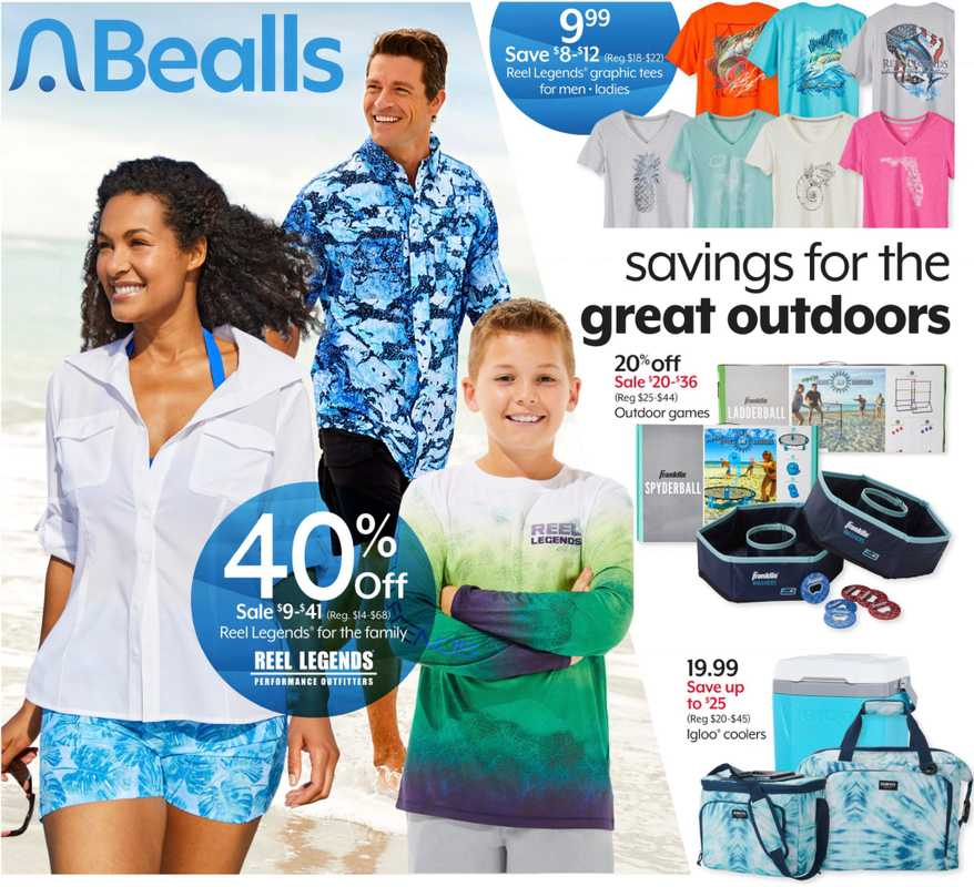 Bealls Florida - deals are valid from 05/12/21 to 05/18/21 - page 1.