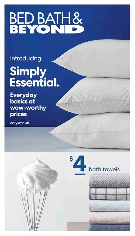 Bed Bath & Beyond - deals are valid from 05/10/21 to 08/29/21 - page 1.