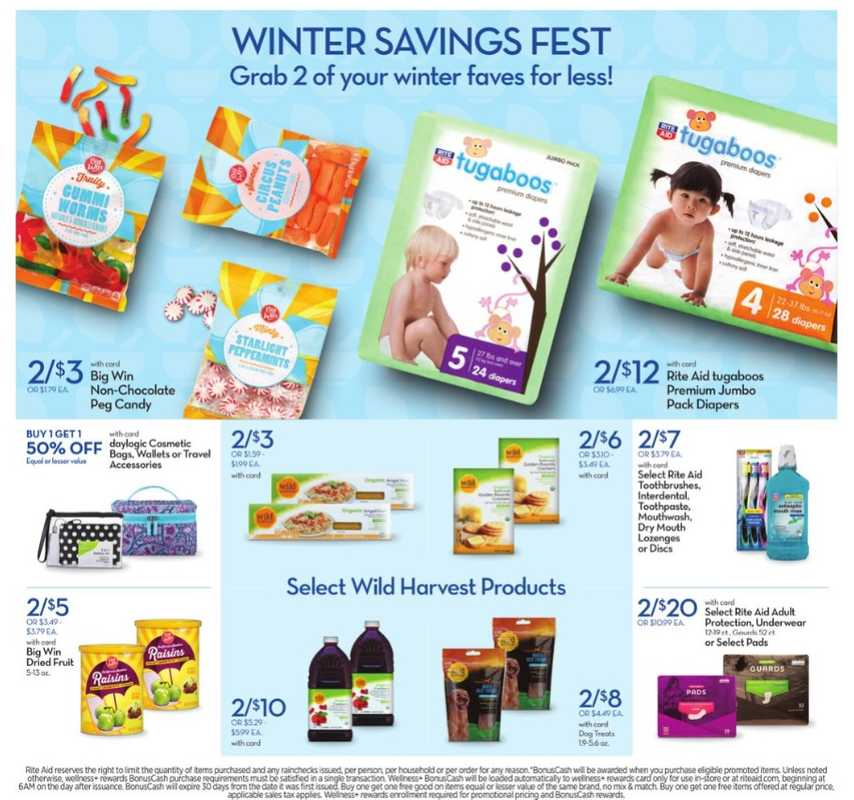 Rite Aid - deals are valid from 01/31/21 to 02/07/21 - page 1.