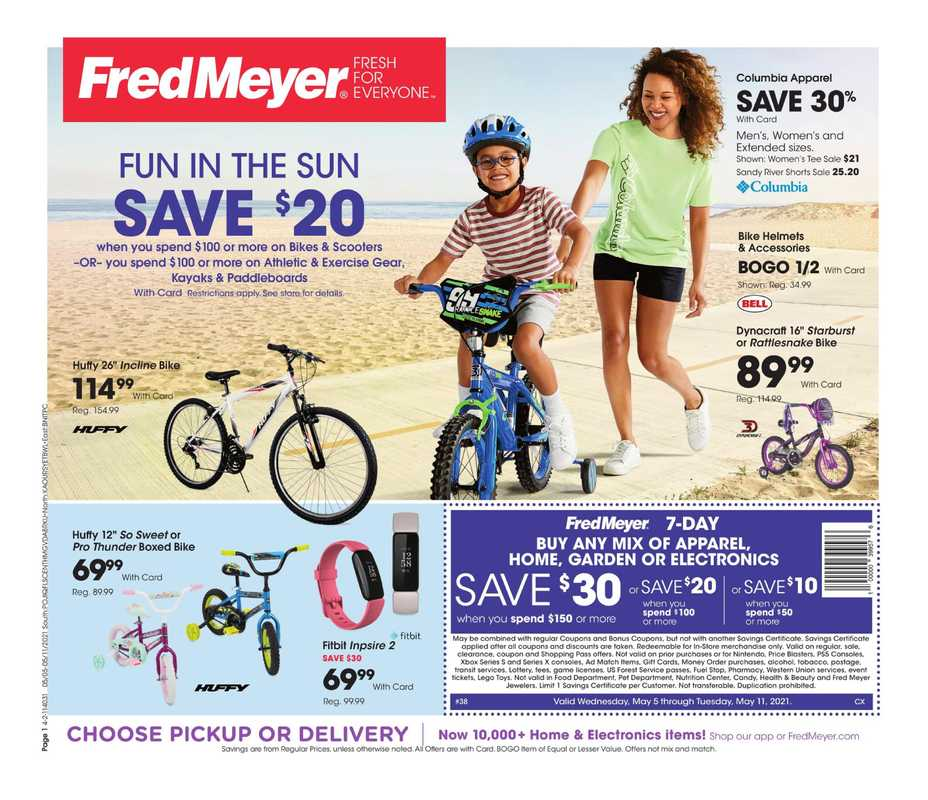 Fred Meyer - deals are valid from 05/05/21 to 05/11/21 - page 1.
