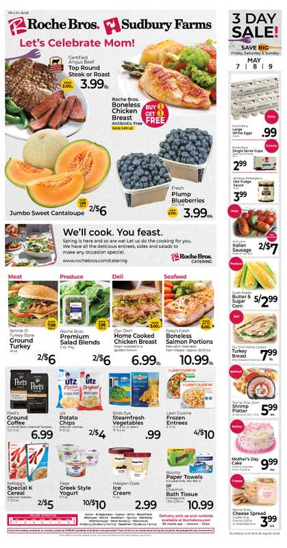 Roche Bros. - deals are valid from 05/07/21 to 05/13/21 - page 1.