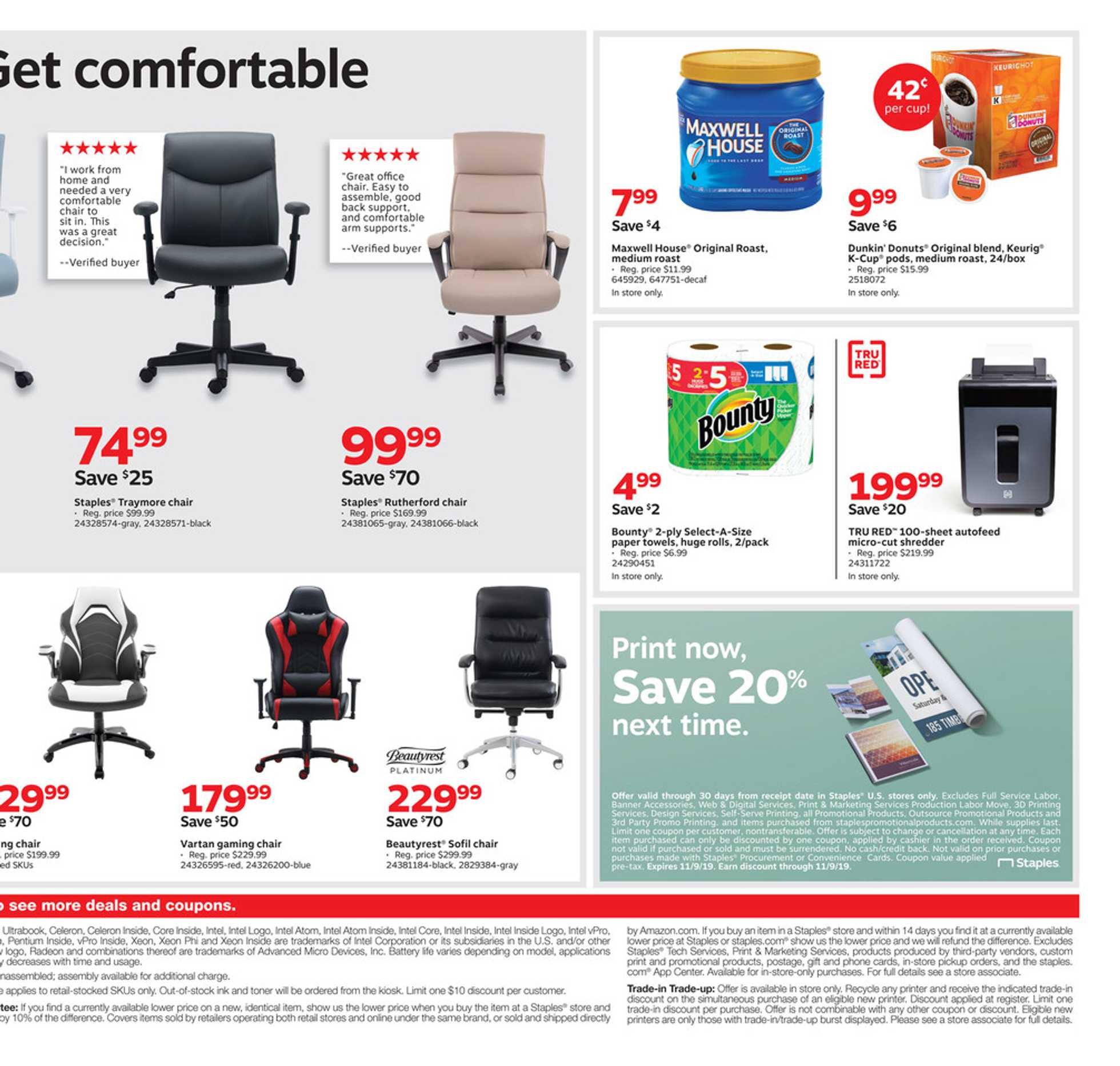 Staples - promo starting from 09/15/19 - page 4