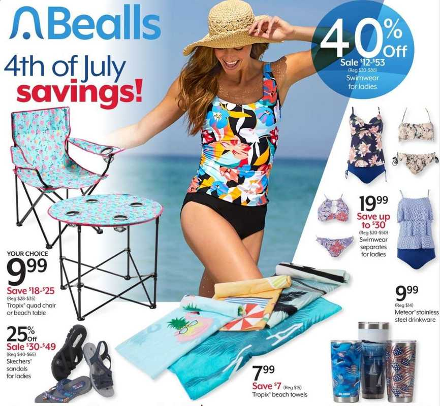 Bealls Florida - deals are valid from 06/30/21 to 08/07/21 - page 1.