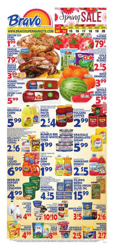 Bravo - deals are valid from 05/14/21 to 05/20/21 - page 1.
