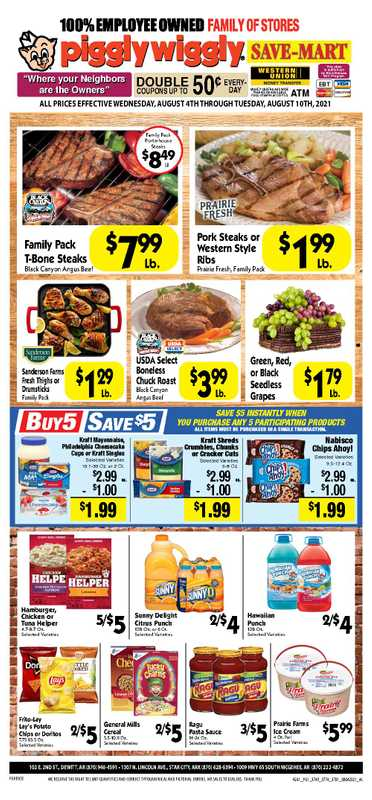 Piggly Wiggly - deals are valid from 08/04/21 to 08/10/21 - page 1.
