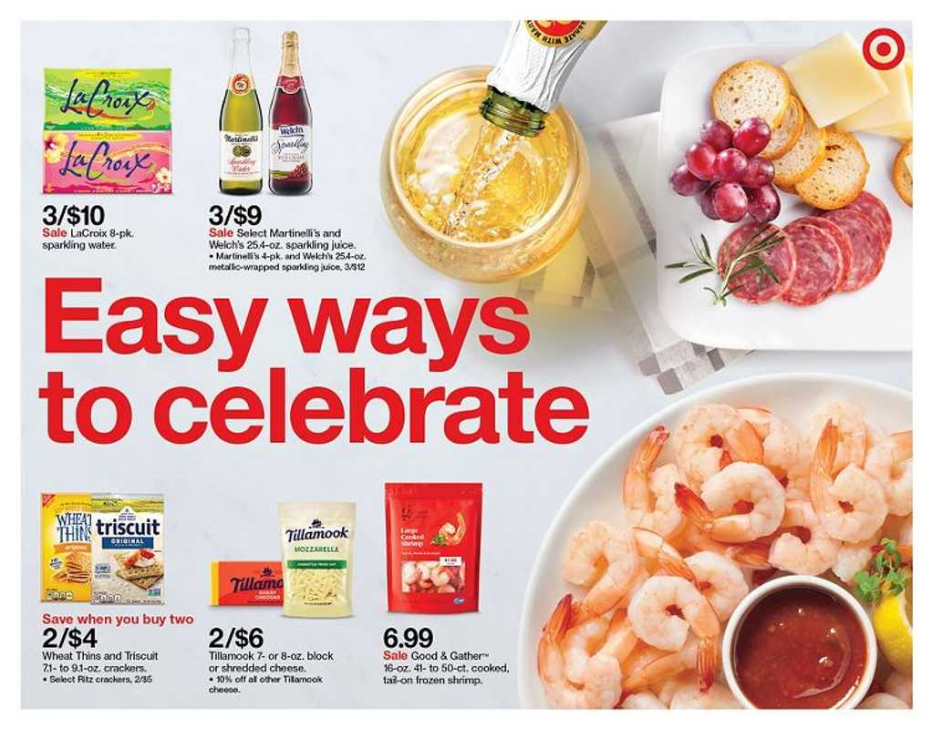 Target - deals are valid from 11/22/20 to 11/28/20 - page 1.