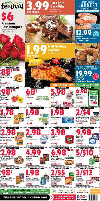 Festival Foods - deals are valid from 07/28/21 to 08/03/21 - page 1.