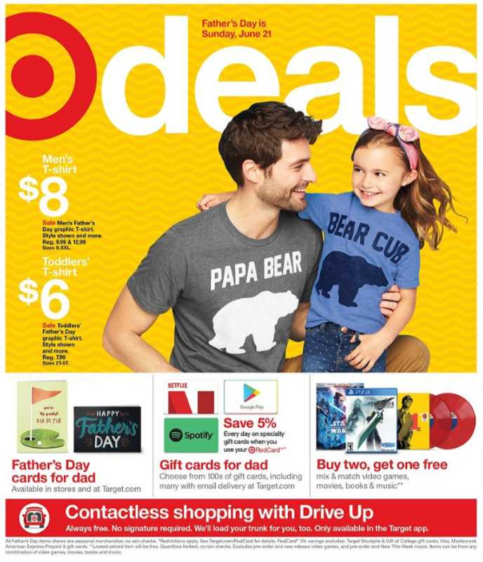 Target - deals are valid from 06/14/20 to 06/22/20 - page 1.