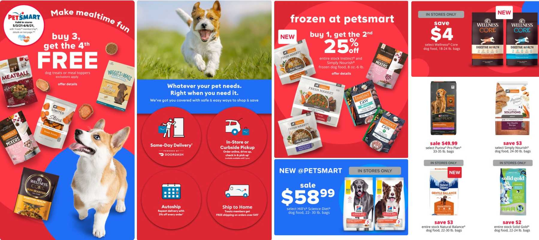 PetSmart - deals are valid from 05/03/21 to 06/06/21 - page 1.