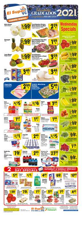 El Super - deals are valid from 06/02/21 to 06/08/21 - page 1.