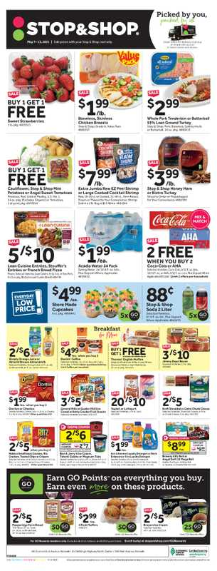 Stop & Shop - deals are valid from 05/07/21 to 05/13/21 - page 1.