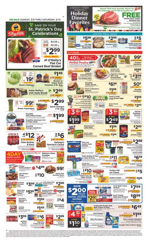 Chuck's Produce - deals are valid from 03/11/20 to 03/17/20 - page 1.