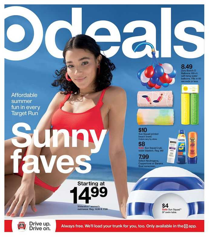 Target - deals are valid from 06/20/21 to 06/26/21 - page 1.