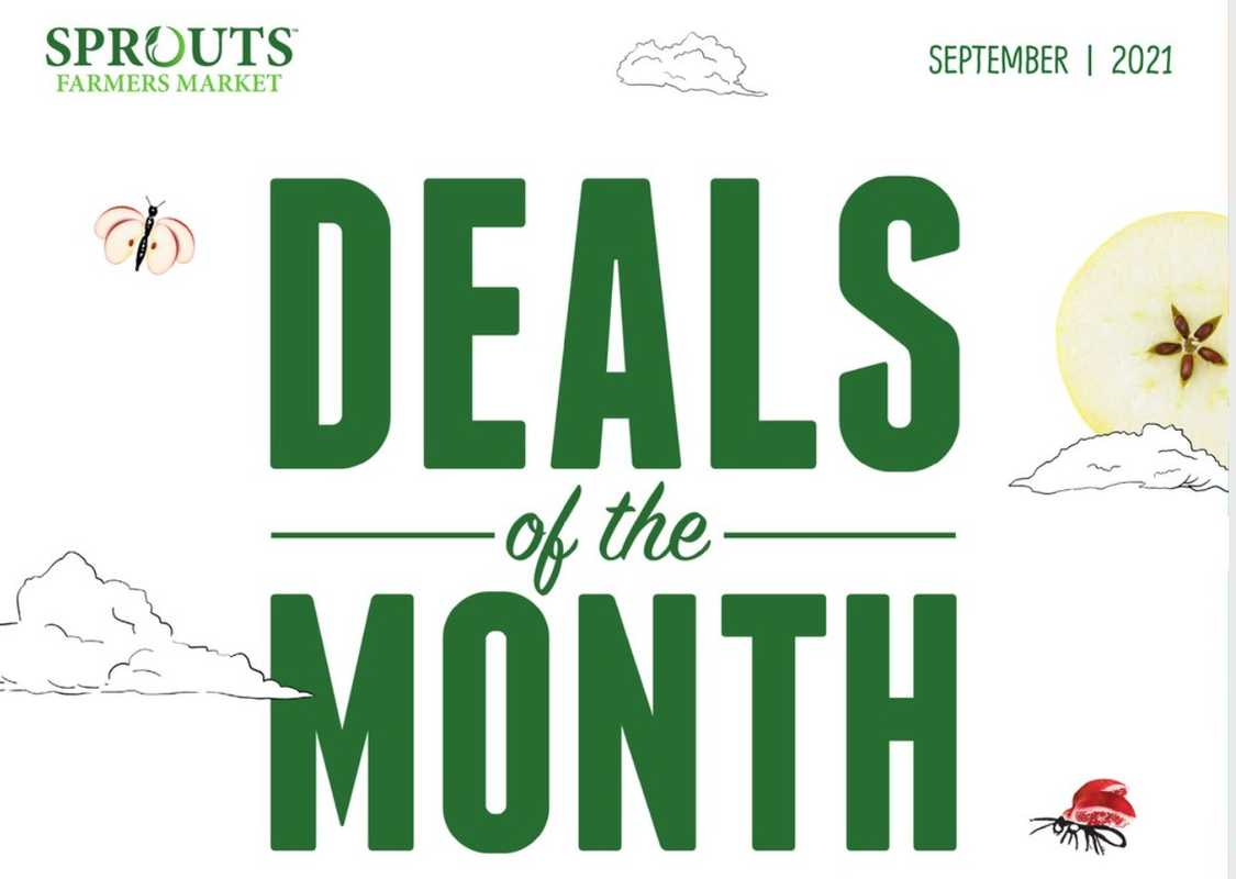 Sprouts - deals are valid from 08/25/21 to 09/28/21 - page 1.