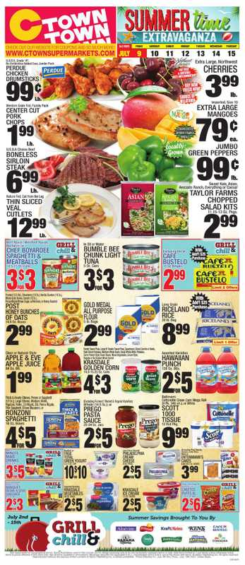 C-Town - deals are valid from 07/09/21 to 07/15/21 - page 1.