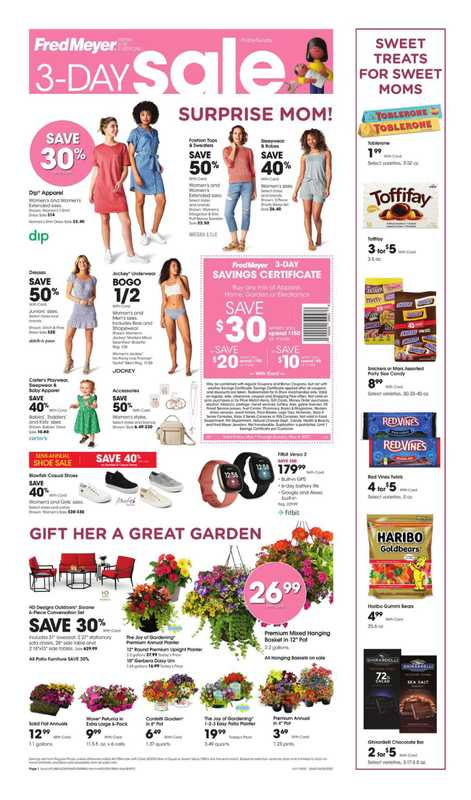 Fred Meyer - deals are valid from 05/06/21 to 05/08/21 - page 1.