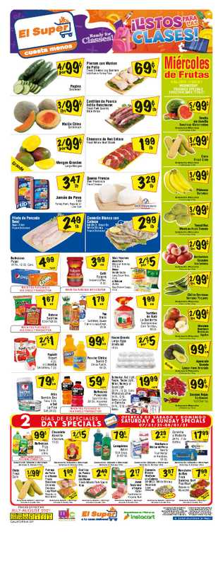 El Super - deals are valid from 07/28/21 to 08/03/21 - page 1.