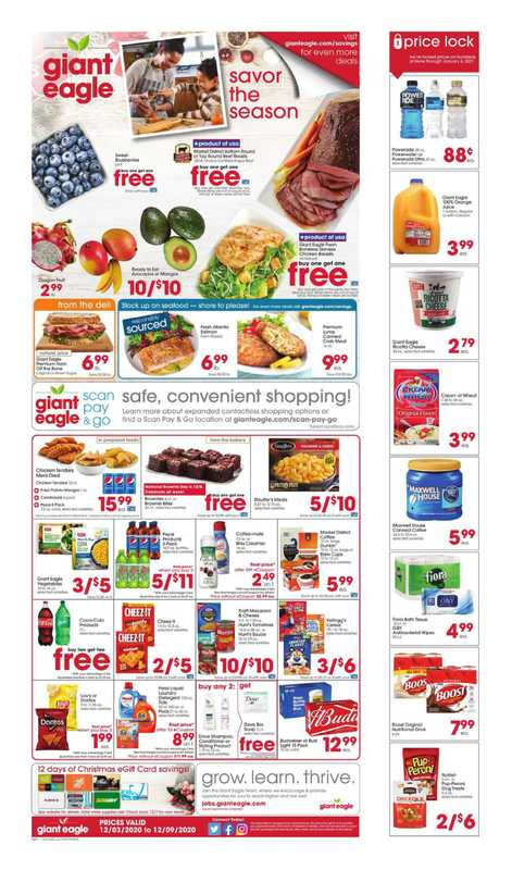 Market District - deals are valid from 12/03/20 to 12/09/20 - page 1.