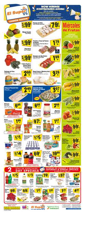 El Super - deals are valid from 05/19/21 to 05/25/21 - page 1.