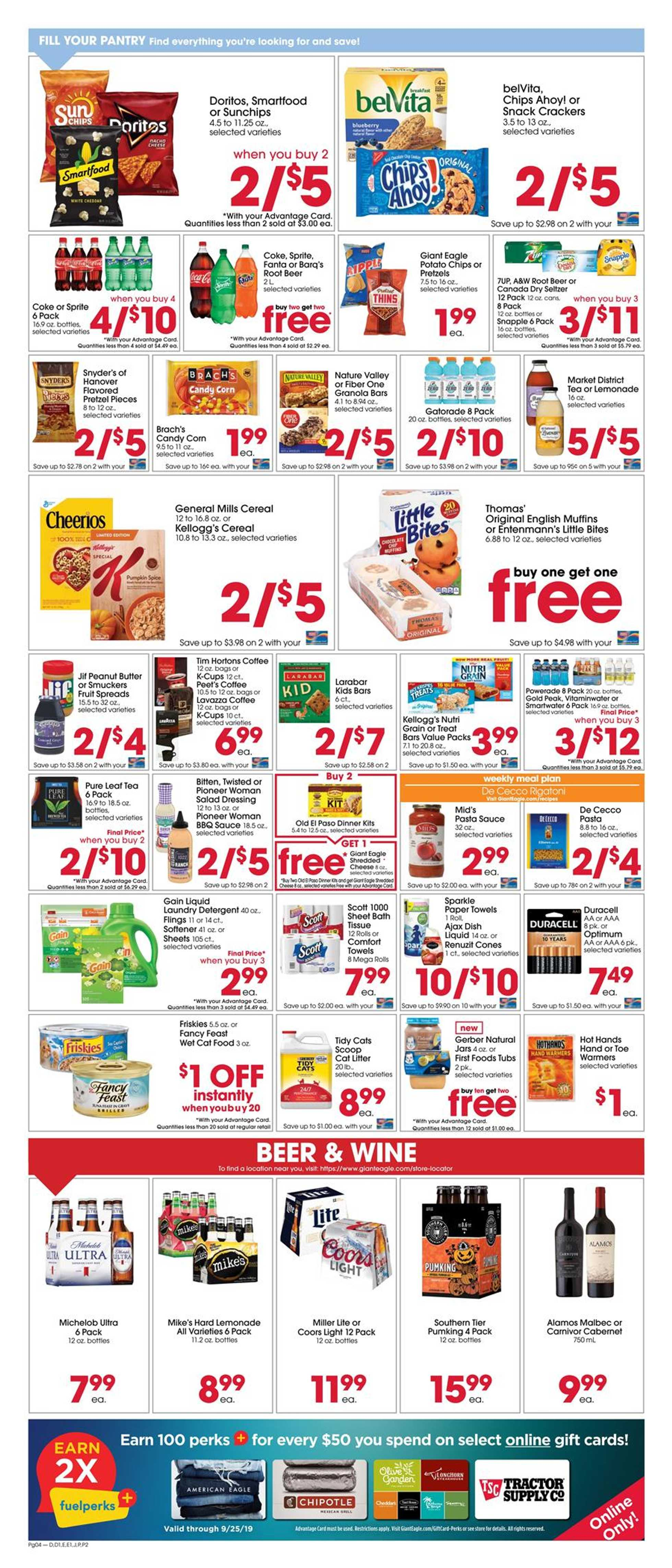 Giant Eagle - promo starting from 09/19/19 - page 4