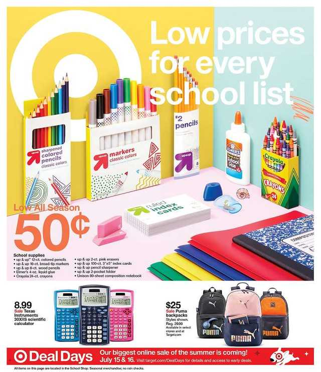 Target - promo starting from 2019-07-14 - page 1