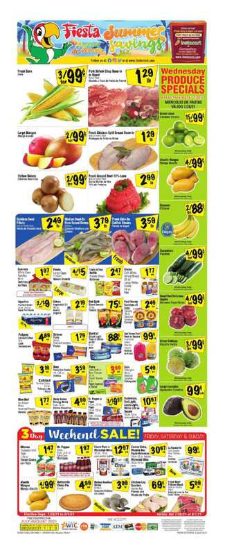 Fiesta Mart - deals are valid from 07/28/21 to 08/03/21 - page 1.