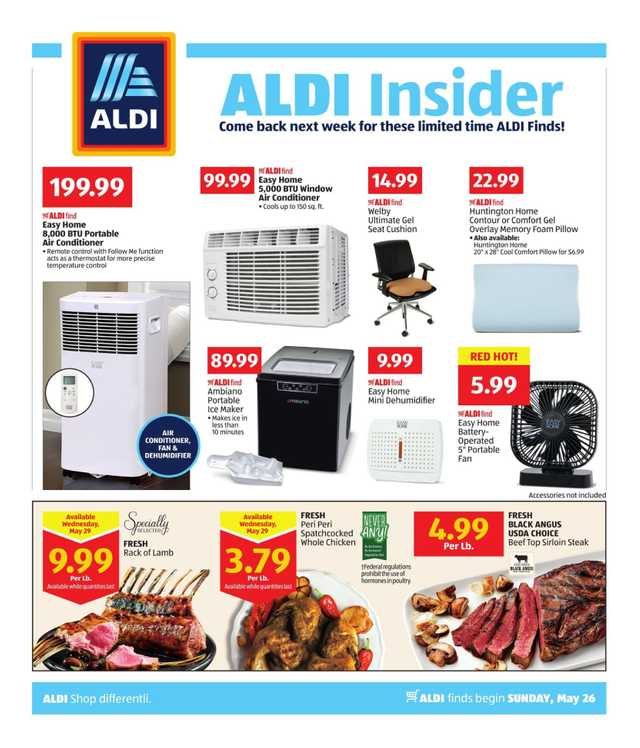 Aldi - promo starting from 2019-05-26 - page 1