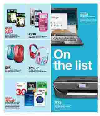 Target - promo starting from 2019-07-14 - page 7