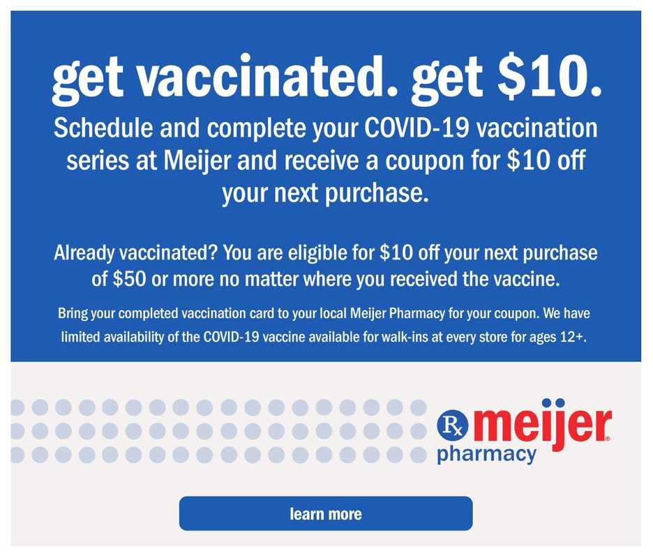 Meijer - deals are valid from 06/06/21 to 06/26/21 - page 1.