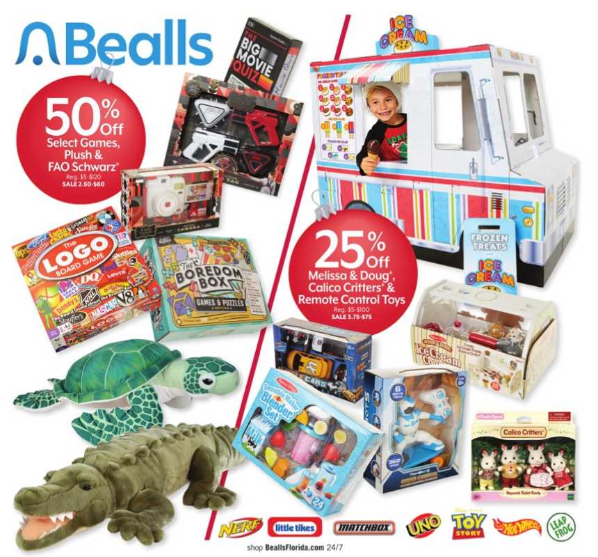 Bealls Florida - deals are valid from 12/20/20 to 12/24/20 - page 1.