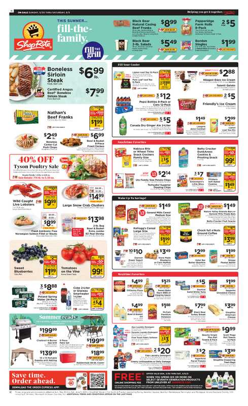 ShopRite - deals are valid from 05/31/21 to 06/06/21 - page 1.