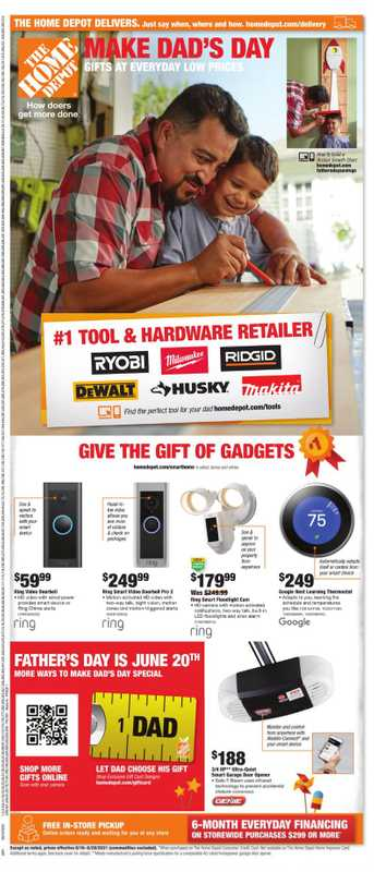 The Home Depot - deals are valid from 06/09/21 to 06/20/21 - page 1.
